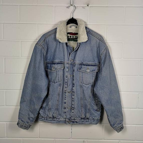 Vintage HIS Denim Jacket Denim Jacket Jeans Jacket