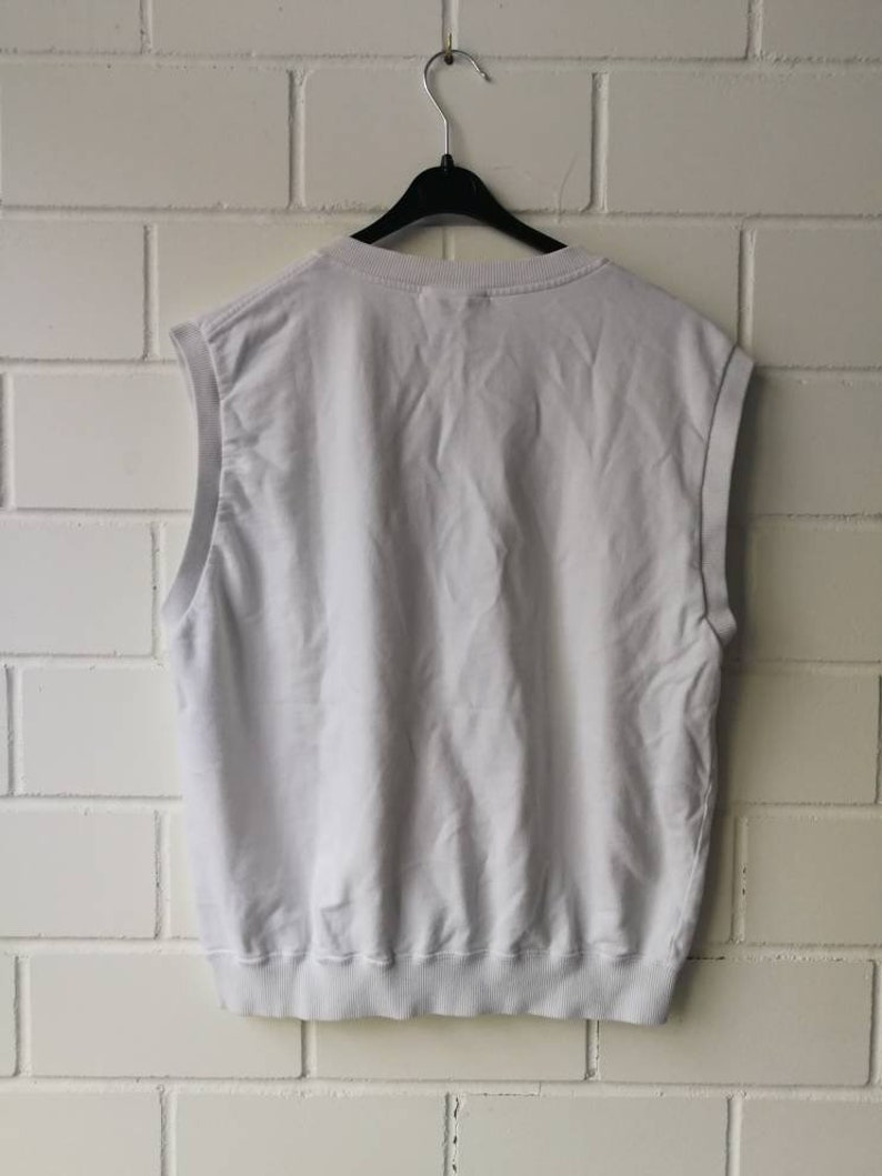 Vintage Lacoste Pullunder Vest 80s 90s Size M