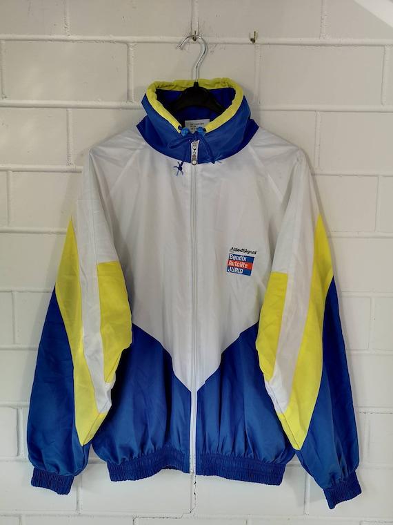 Vintage Shelljacket Sportjacket Windbreaker 80s 90s Size ML