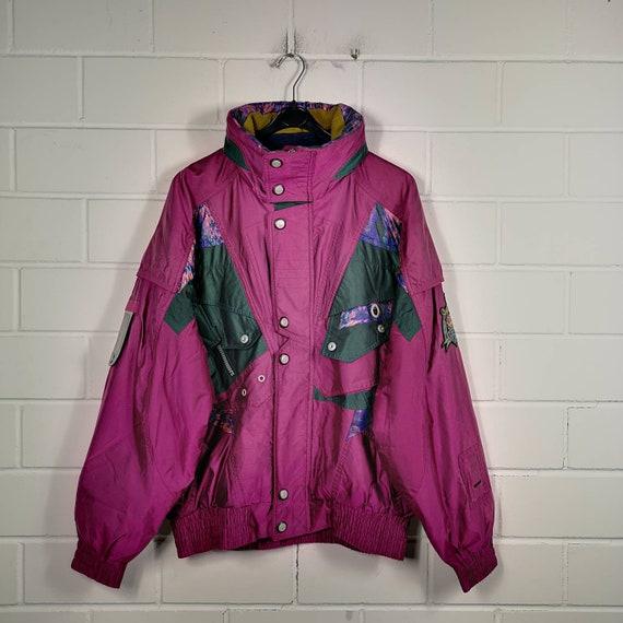 Vintage Size M crazy pattern ski jacket ski jacket