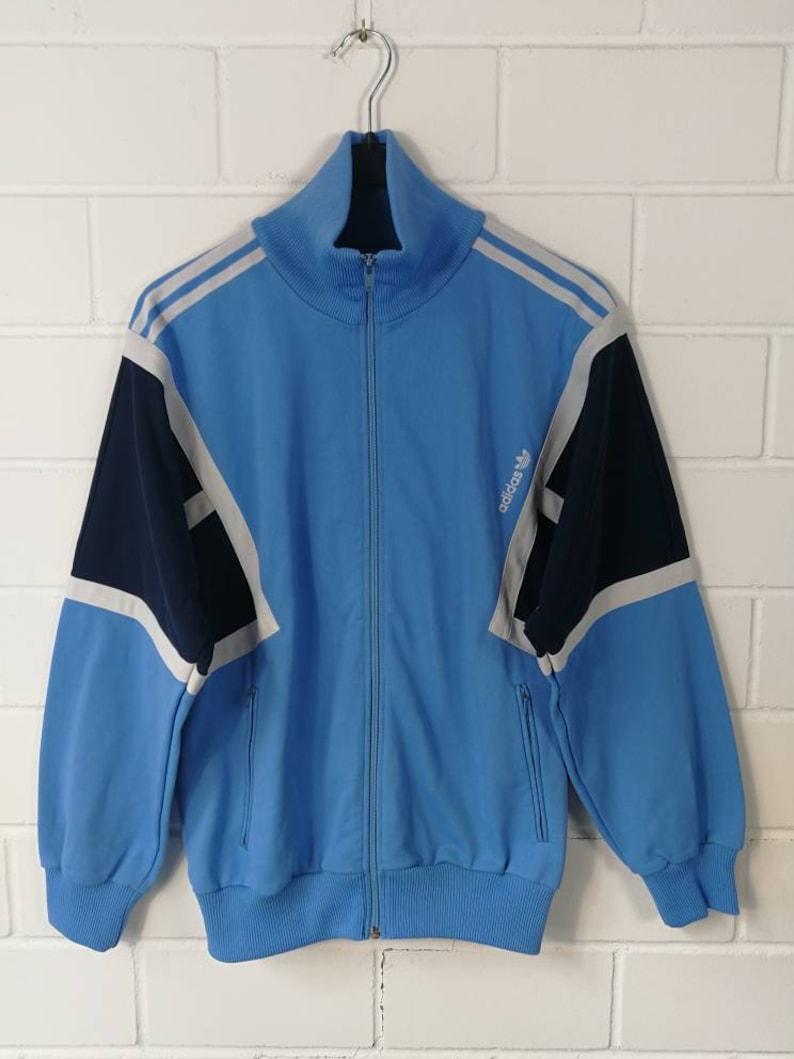 Adidas track jacket 80s vintage sports top