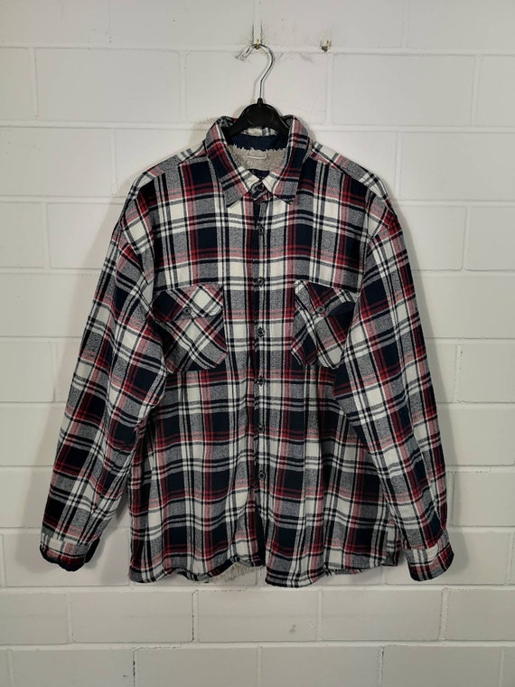Vintage Size XL Lined Flanel Shirt Flannel Shirt C