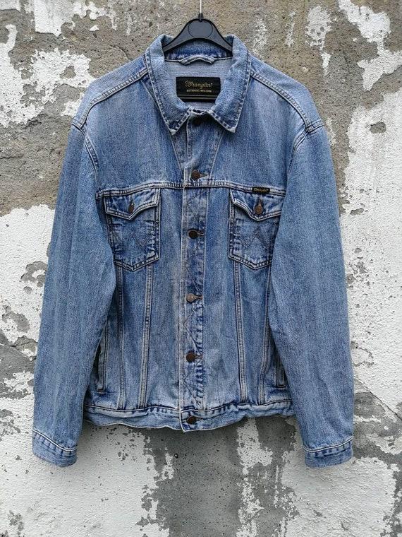 ORIGINAL ! LEVI'S coole Jeansjacke blau True VINTAGE 80s