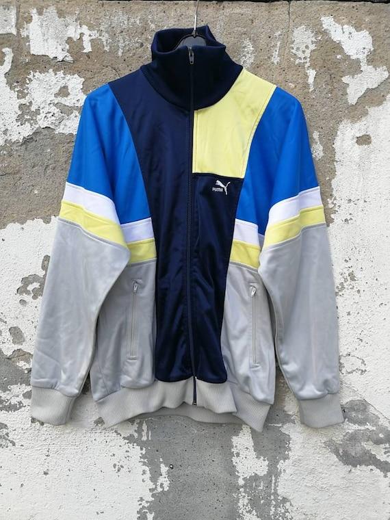 Vintage Puma Track Top Sportjacket Jacket Trainingsjacke 80s 90s Size M