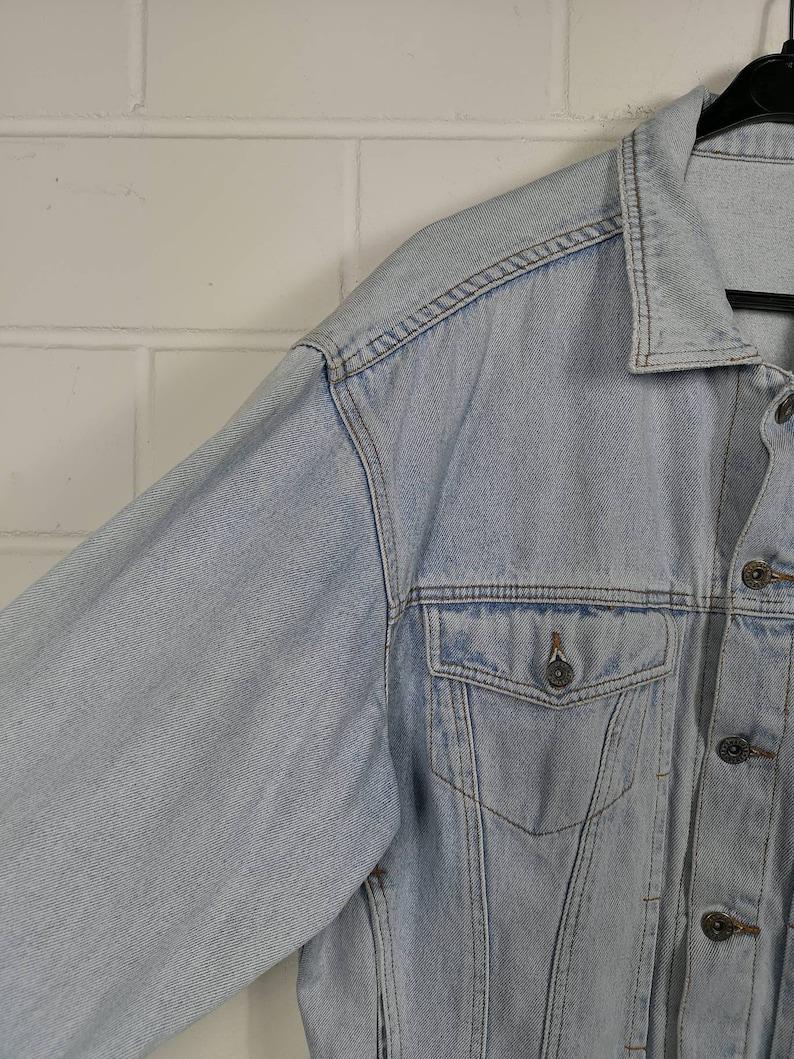 Vintage Size Denim Jacket Denim Jacket Jeans Jacket oversized 80s 90s