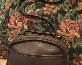 b411d847991d Vintage Coach Brown Lunch Box Handbag Crossbody Purse Bonnie Cashin USA  9991 vintage coach lunch box purse