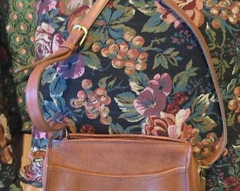 Vintage Coach British Tan Crossbody Handbag 246 USA Bonnie Cashin Purse