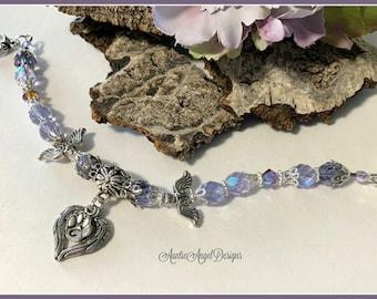 Dog angel bracelet, cat angel bracelet, cat memorial bracelet, dog memorial bracelet, pet sympathy jewelry, pet loss sympathy jewelry
