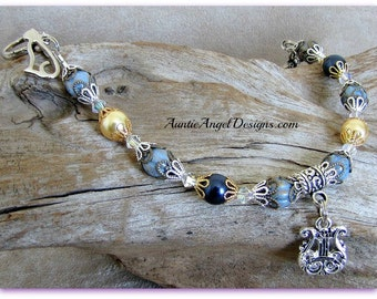 Angel cat jewelry, cat sympathy bracelet, cat memorial, cat angel bracelet, death of cat gift, cat memorial jewelry, cat mom sympathy gift
