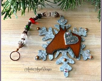 Custom horse ornament, personalized Christmas horse ornament, horse memorial gift, horse head holiday ornament, horse lover Christmas gift