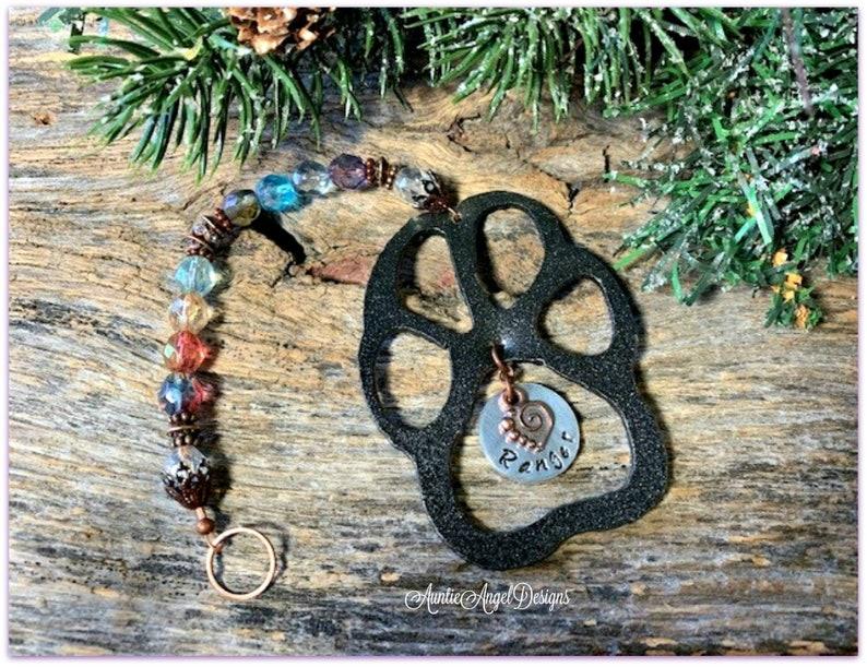 Pet Memorial Ornament Pet Loss Gift Pet Sympathy Gift Dog image 0