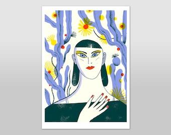 Anna - A4 Print
