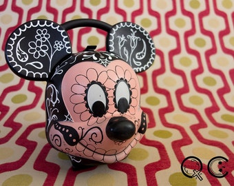 Mickey Mouse Lunch Pail. -  Día de los Muertos - Day of the Dead