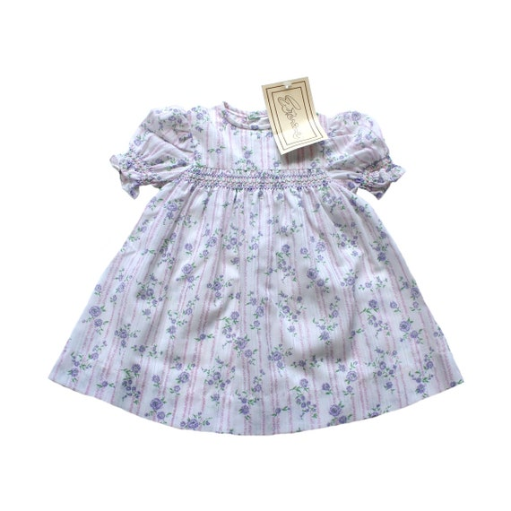 135e050fa9 FRENCH VINTAGE 70 s   toddler dress   floral polyester