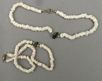 Puka Shell Necklaces, Two 1970's