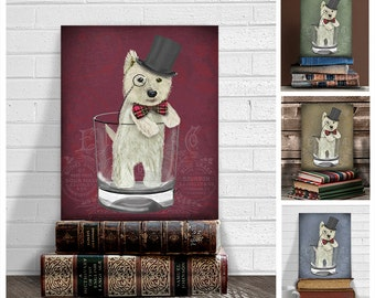BULL TERRIER /& CHILD ON STAIRS LOVELY LITTLE DOG PRINT MOUNTED READY TO FRAME