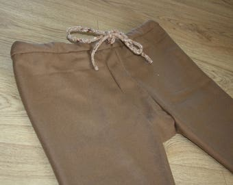 Thorsberg trousers thick wool light brown