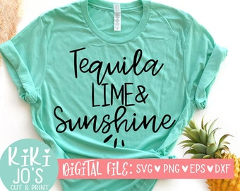 e36fbf22e Tequila Lime & Sunshine SVG, Cinco De Mayo SVG, Bachelorette Party Design,  Party svg, Brunch svg, cute womens design, Mexican food quote
