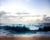 wave, ocean art, beach print, beach decor, Hawaiian home decor, beach art, beachy gift, for him, gift for her, gift, housewarming