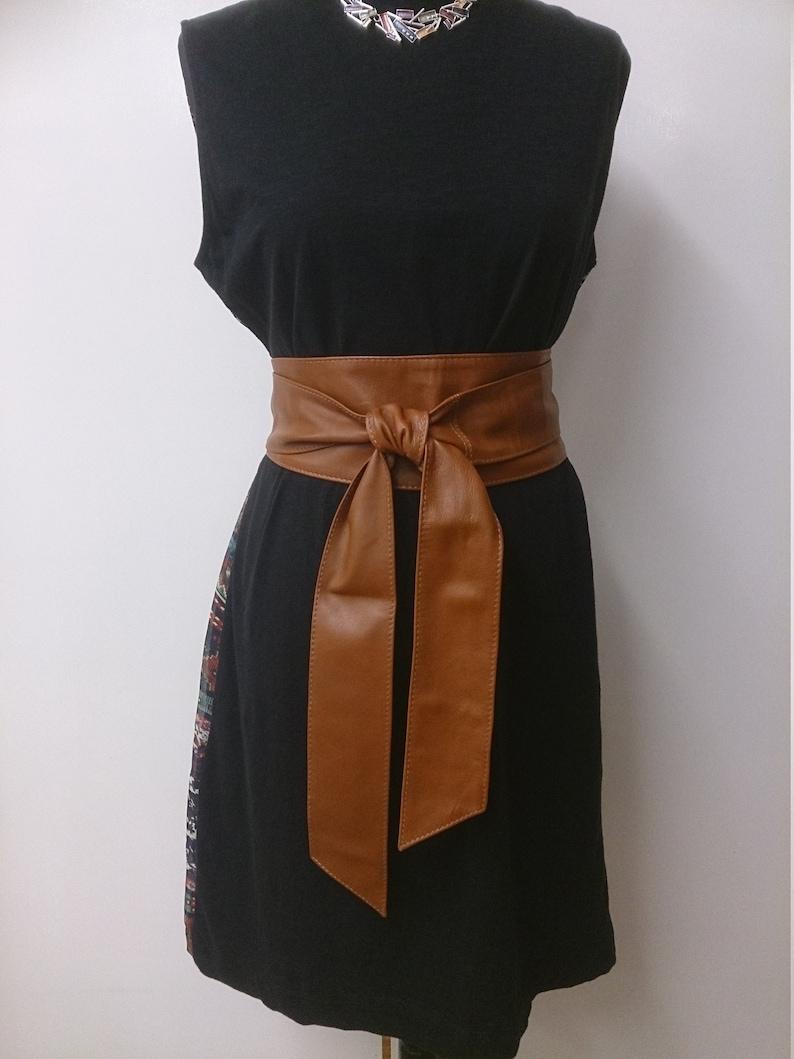 d5c187c1680 Camel ceintures obi de cuir véritable Caramel caramel