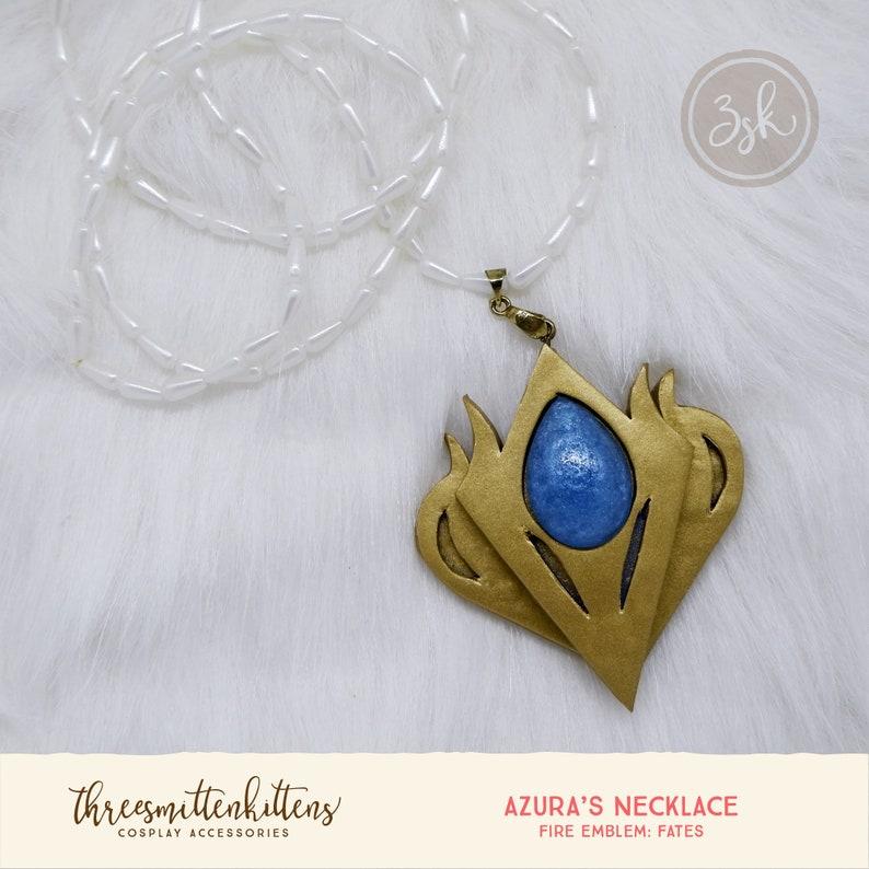5cba6dd8cd Fire Emblem Fates Azura's Necklace