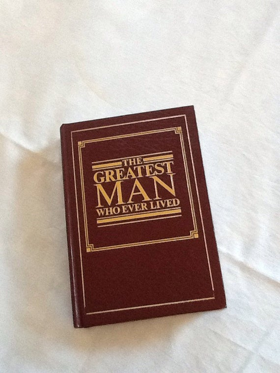 Bible - The Greatest Man Who Ever Lived - Jehovah Witness Bible