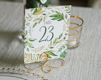 12 Pack Stand For The Menu Clips Table Number Card Holders Photo Holder Stands Place Paper Holder Circle Shape gold Card Holder & Note Holder