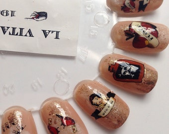 Nail Decals: Once Upon A Time Water Nail Decals Summer Sale!!!!!