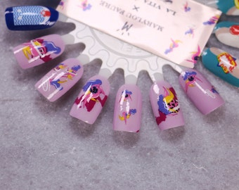 Collabration Nail Decals: Shakti Water Nail Decals by Marylou Faure Summer Sale!!