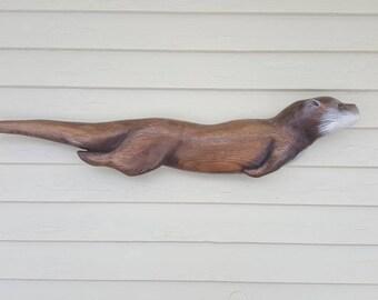 River Otter Wall Art