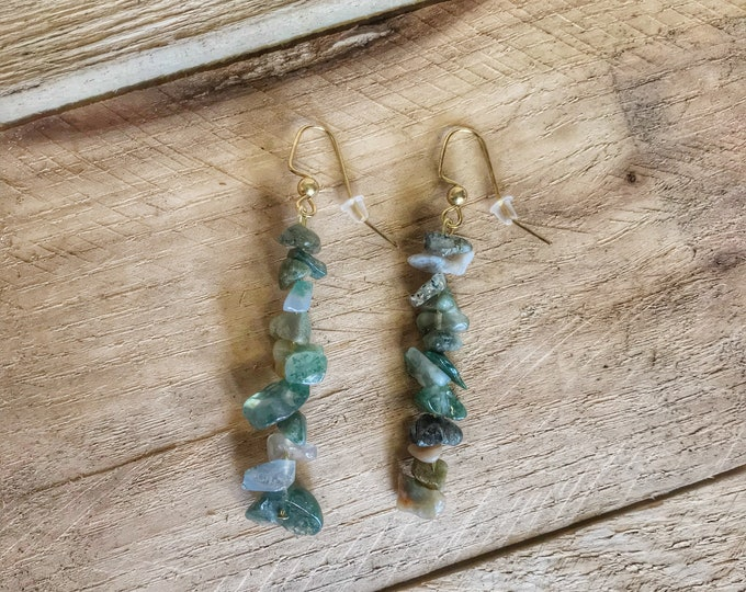 Fancy Jasper Dangle Earrings, Jasper Earrings, Jasper Crystal, Fancy Jasper Crystal, Jasper Jewelry, Fancy Jasper Jewelry, Crystal Earrings