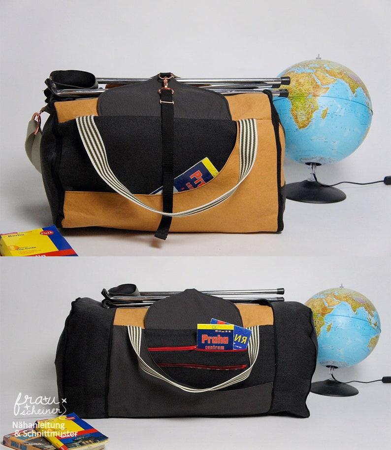 Schnittmuster Reisetasche Weekender oder große Sporttasche image 0
