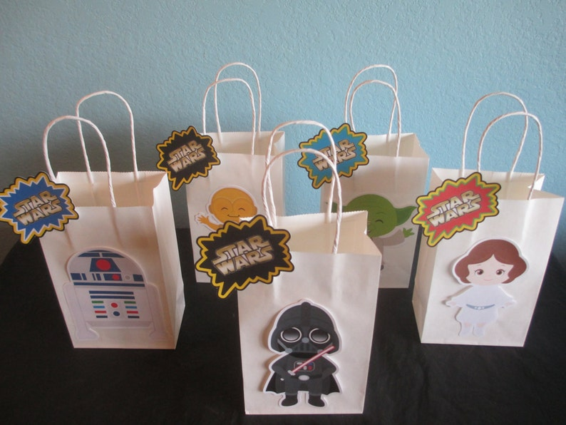 Star Wars Goody Bags10Star BagsStar Birthday
