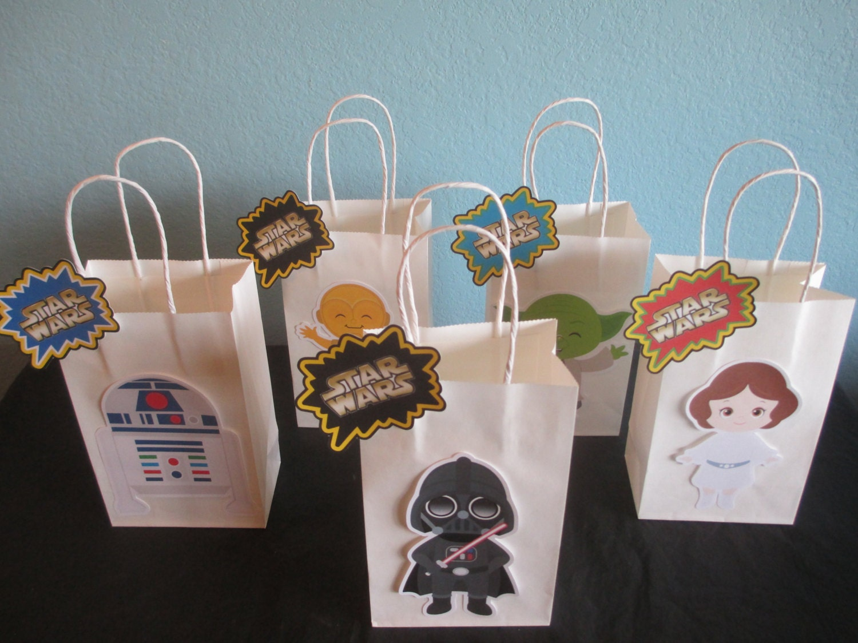 Star Wars Goody Bags10Star BagsStar Birthday