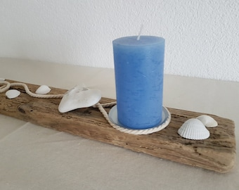 Driftwood Bar-maritim with Candle holder