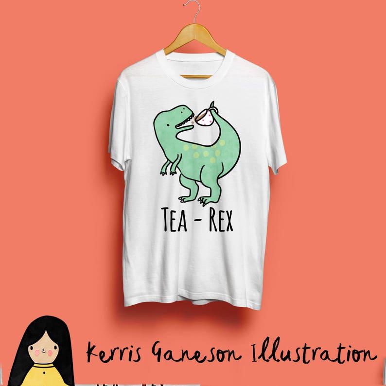 T-Shirt thé Rex dinosaure Unisex T-Shirt T-Shirt T Rex TRex  ffac5bcca71