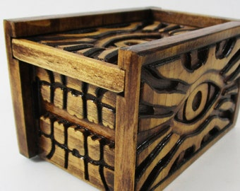 Wooden Dice Box Etsy