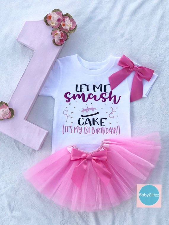 Surprising First Birthday Girls Dress Girls First Birthday Etsy Personalised Birthday Cards Veneteletsinfo