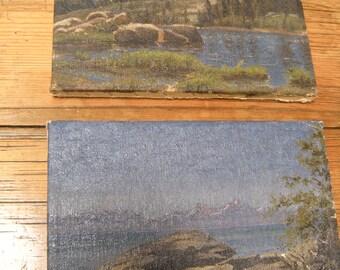 California Plein Air Mountain Paintings