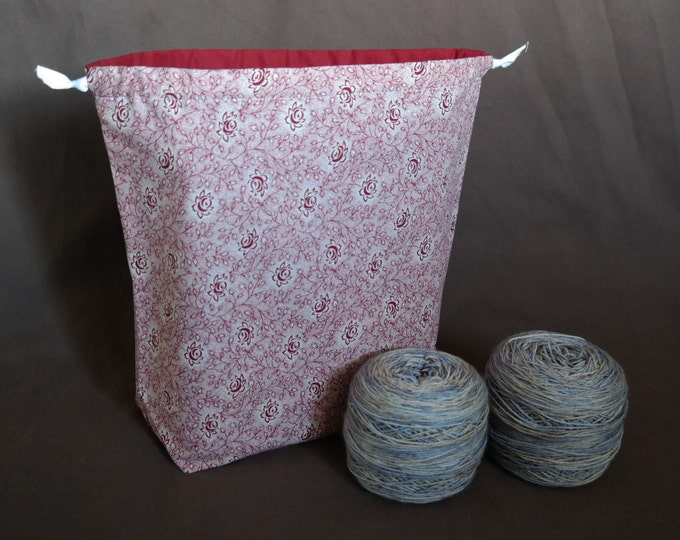 Large Drawstring Project bag