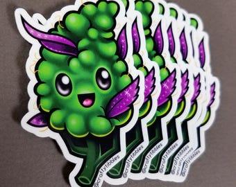 Happy Little Nug Sticker