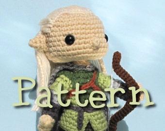 Legolas Crochet Amigurumi Pattern