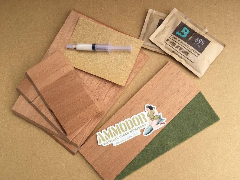 Diy Cigar Humidor Kit Build Your Own Cigar Humidor From Repurpsed Etsy