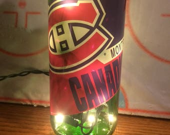 Montreal Canadiens Lighted Wine Bottle 750 ml.