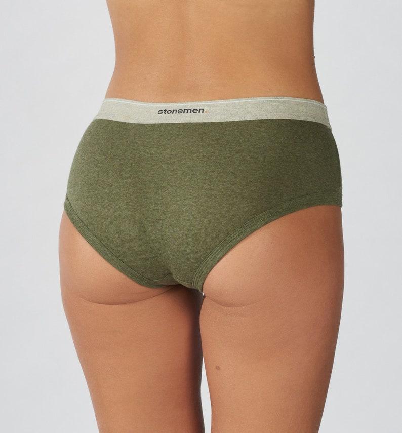 Women/'s Brief    Essentials    Moss