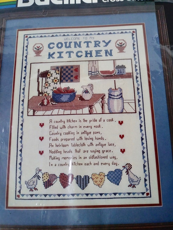 Welcome Counted Cross Stitch Kit MAKE YOUR OWN HANDS