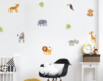 Jungle Wall Decal Etsy