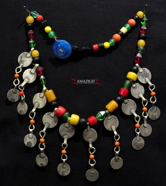 Old Berber Necklace - Dades Valley, Morocco