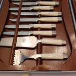 Vintage Knife Set / Regent Sheffield 19 Piece Presentation Set / Stainless Steel Knife Set / Vintage Wedding Gift / Retro Housewarming Gift