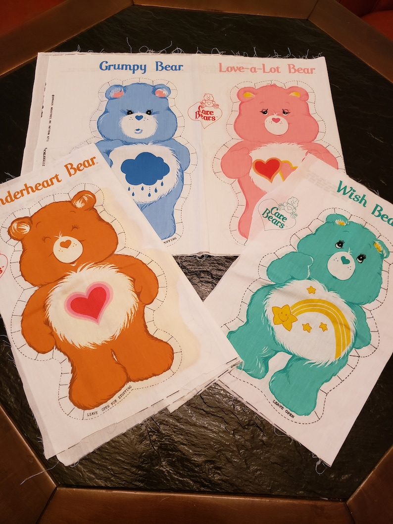 Care Bear Cut and Sew Pillow Panels Funshine Bear image 0